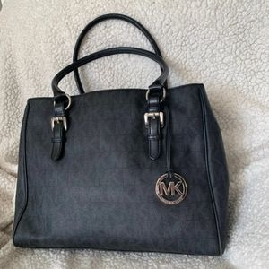 Michael Kors black handbag purse